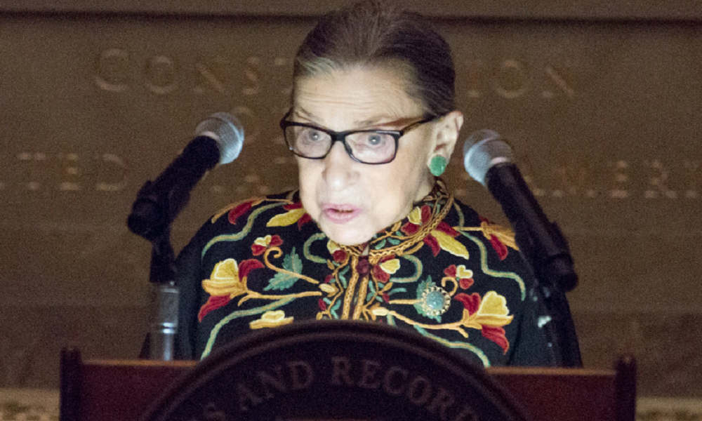Ruth Bader Ginsburg hospitalized for non-surgical treatment