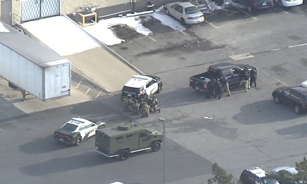 Hostage situation at UPS in Logan Township, New Jersey - BNO