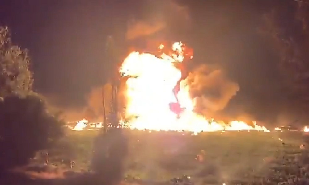 Dozens killed as pipeline explodes into flames in Mexico