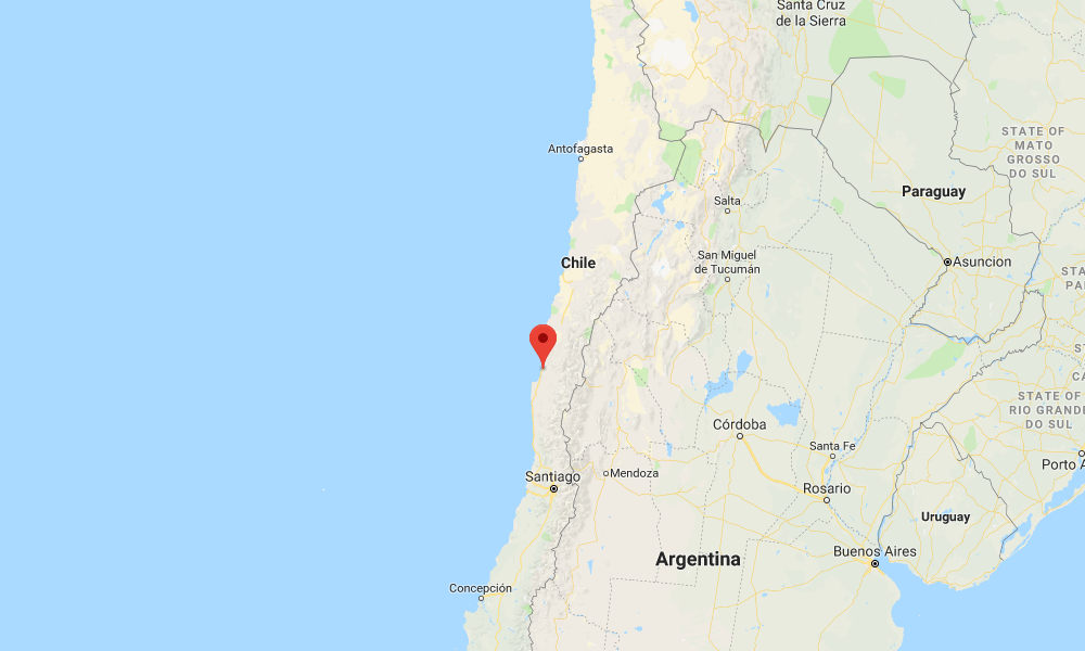 Magnitude 6.7 natural disaster hits Chile