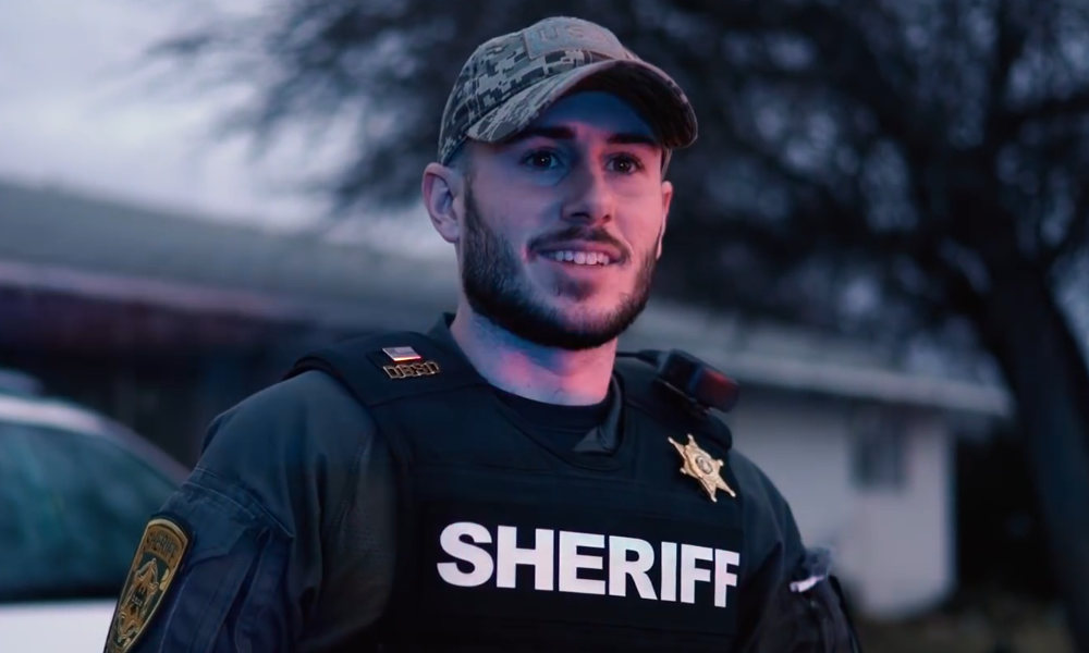 Patty Mayo, who poses as sheriff's deputy on YouTube