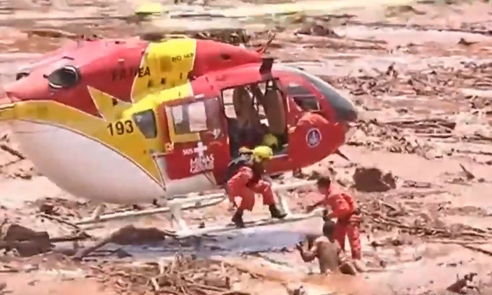 More than 200 missing after dam collapses in Brazil