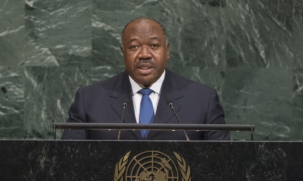 Gabon soldiers read message on state radio as shots heard in Libreville