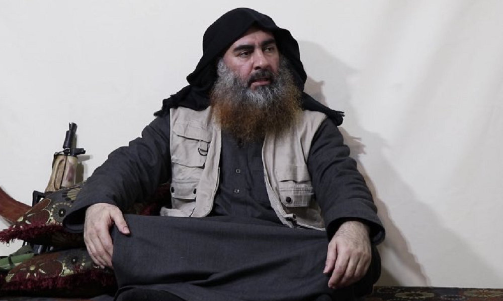 Islamic State chief Baghdadi appears for first time in five years