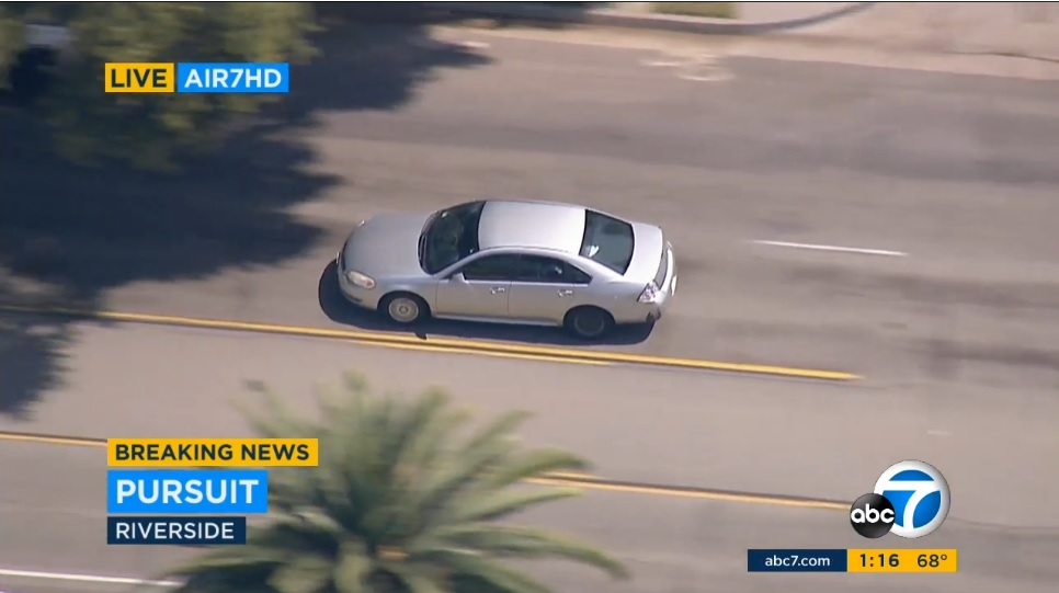 WATCH LIVE: Police in pursuit of rape suspect - BNO News