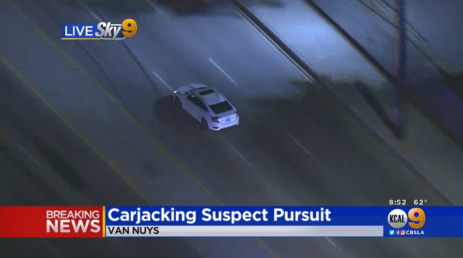 REPLAY: Police pursuit in Los Angeles - BNO News