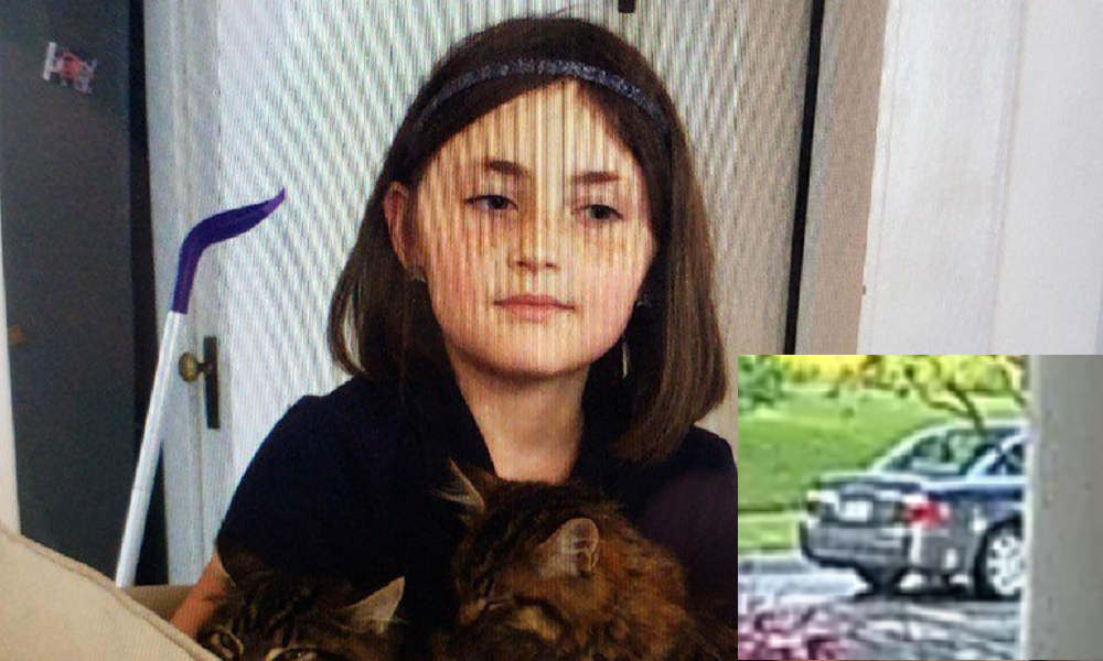 A Texas girl was abducted and thrown into a car, police say