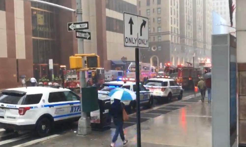 Helicopter pilot killed in Manhattan skyscraper crash