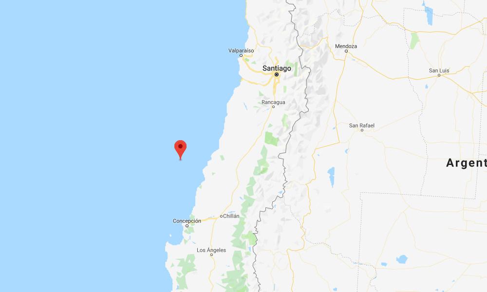 Magnitude 7.2 quake strikes off coast of Chile; no tsunami threat