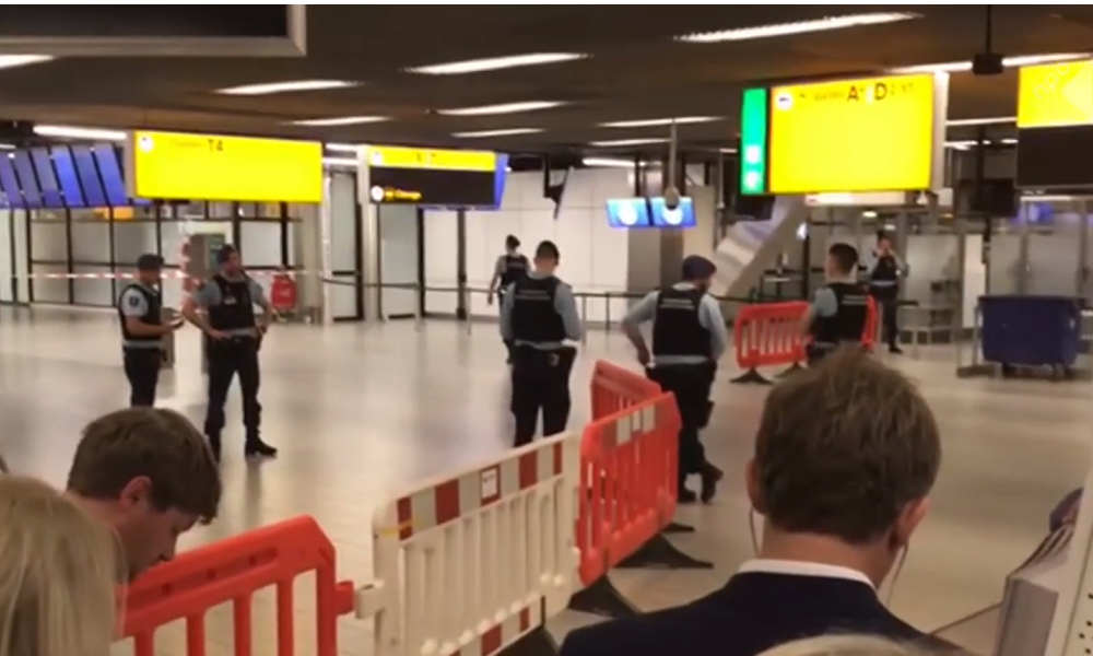 Schiphol Airport security alert: Passengers and crew safe, suspect caught