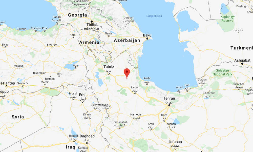 Magnitude 5.9 quake  jolts region of northwestern Iran