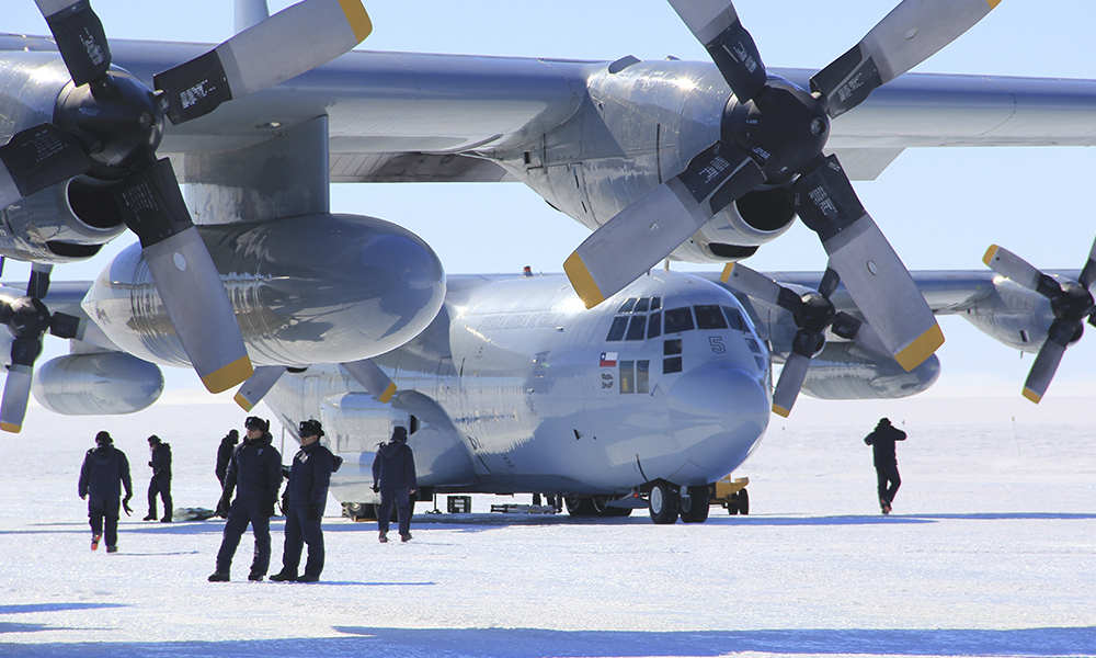 Chile military plane carrying 38 people disappears en-route to Antarctica