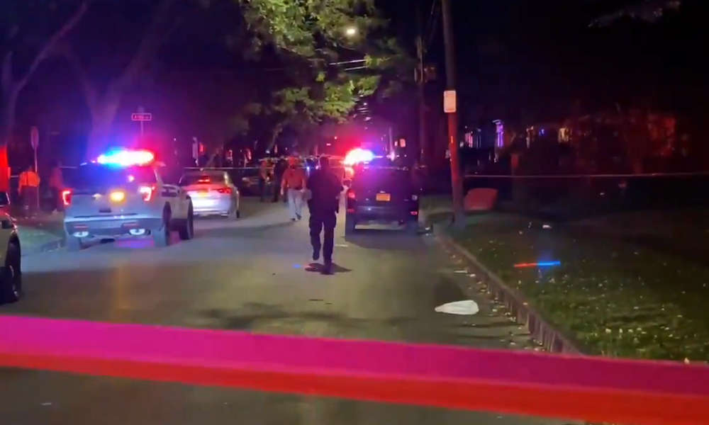 Two dead, many wounded in shooting at NY party